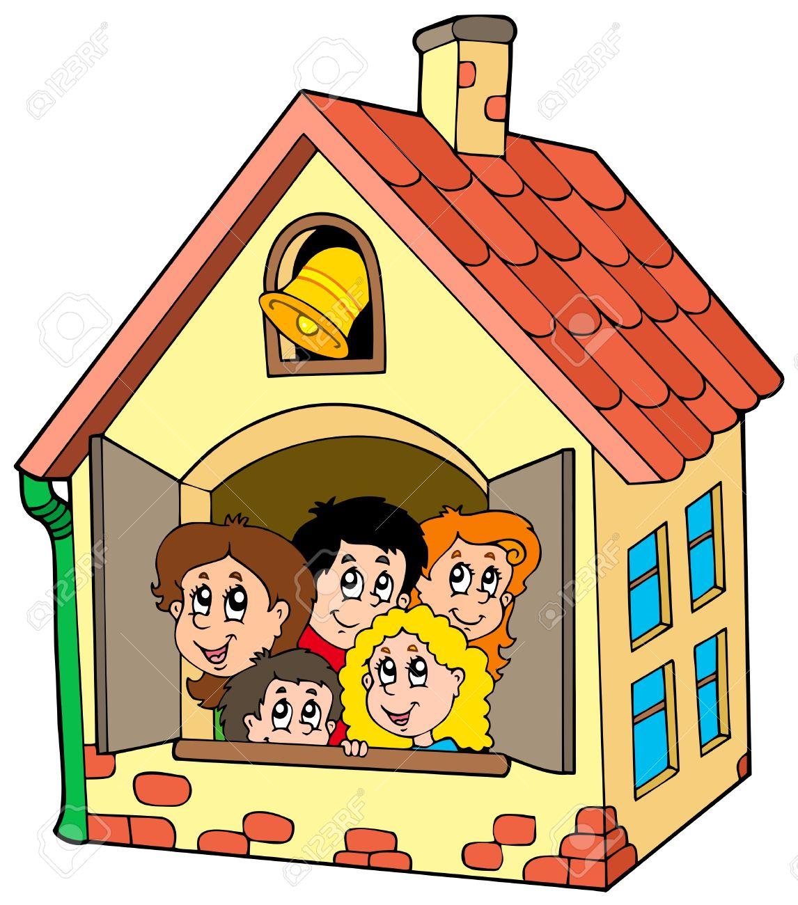 School House Cartoon Images School House Cartoon