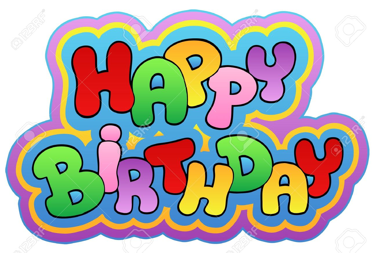 Happy birthday theme  - illustration. Stock Vector - 8350126