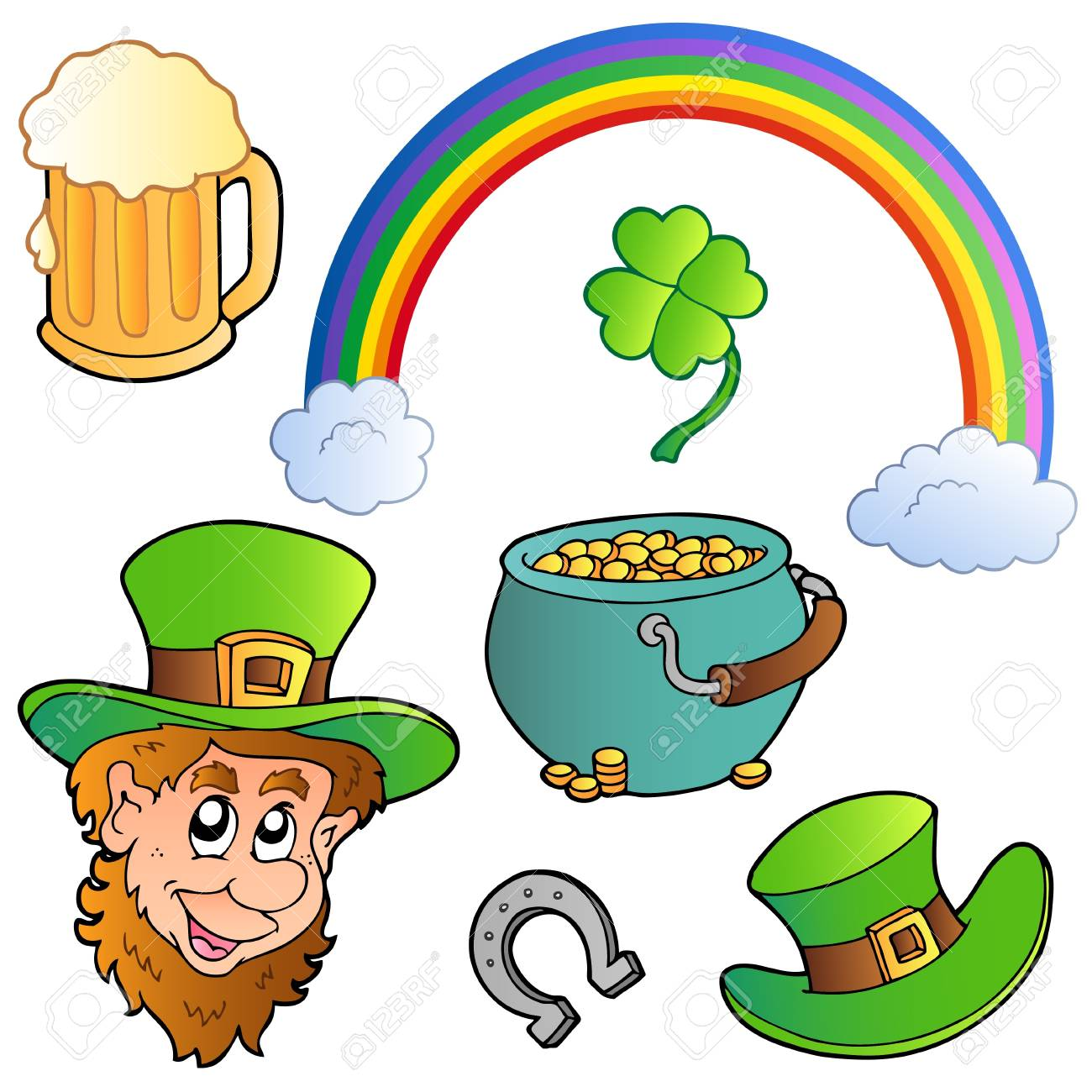 St Patricks day collection 3 Stock Vector - 8799933