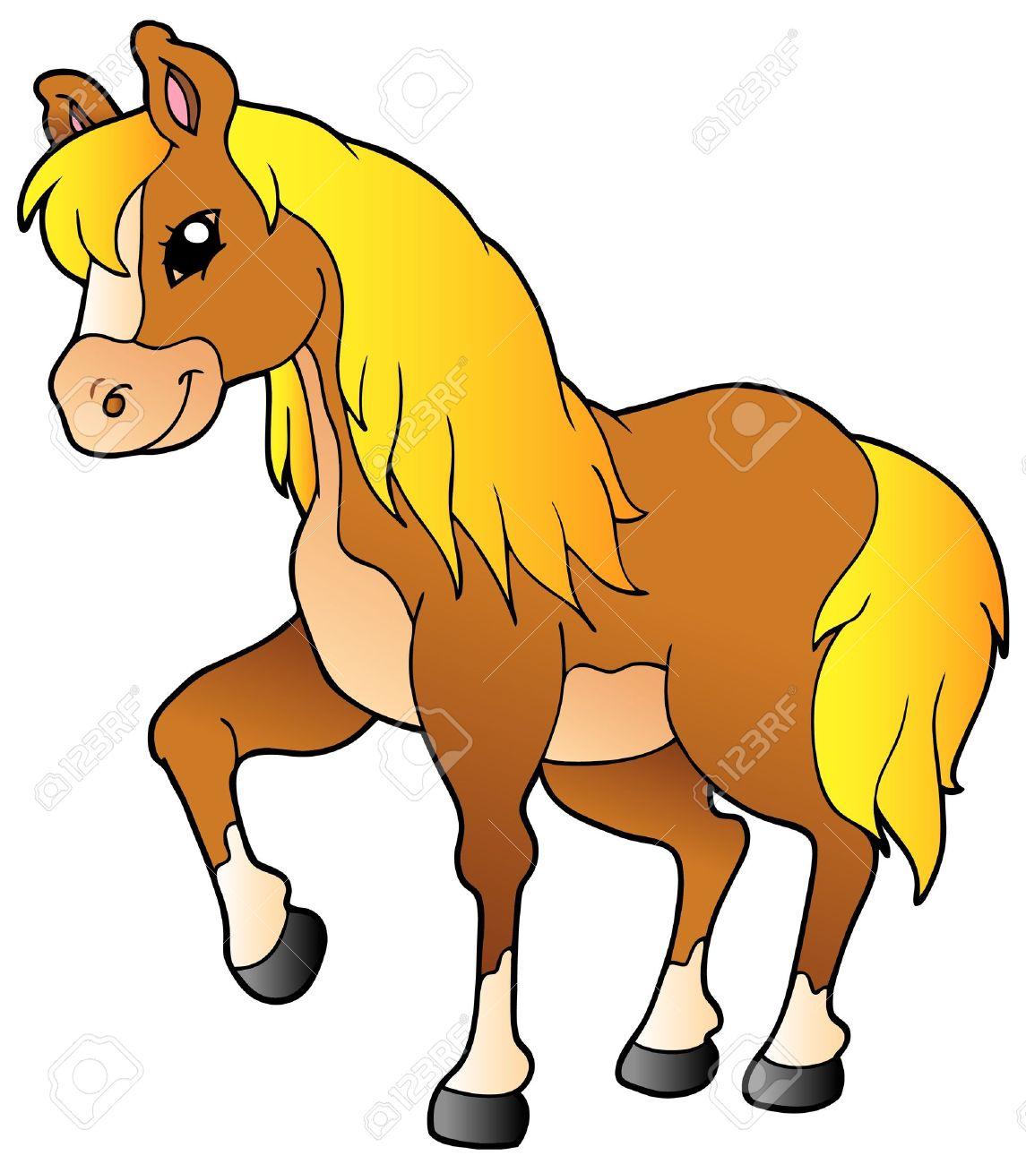 Clip Art Clipart Horse cartoon walking horse royalty free cliparts vectors and stock vector 9133397