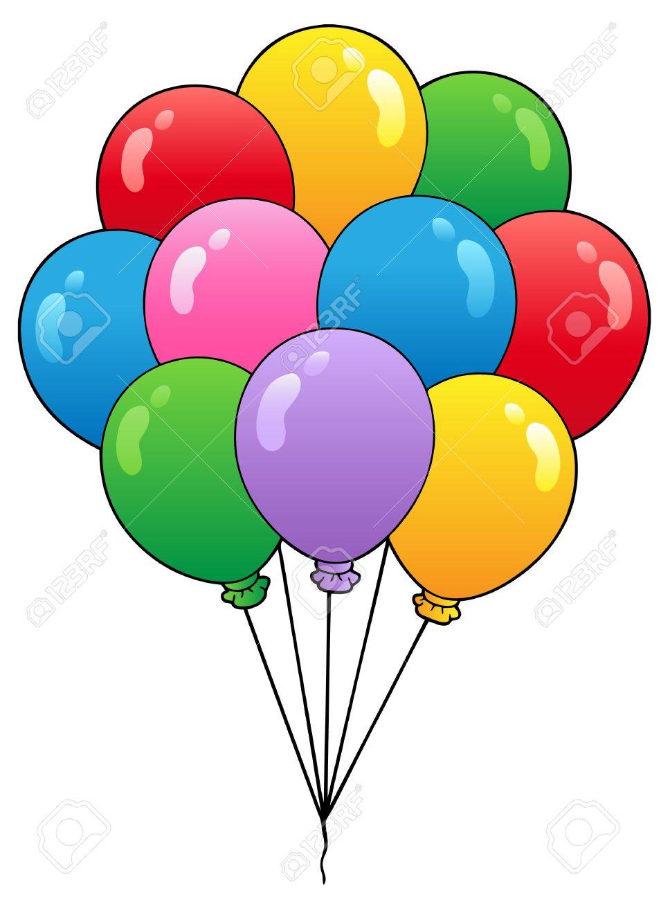group of cartoon balloons royalty free cliparts vectors and stock rh 123rf com cartoon balloon making noise cartoon balloons with 92 on them