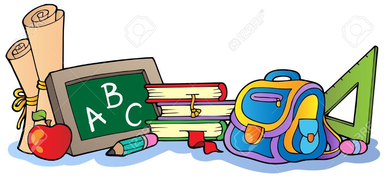 Various school supplies 1 - 10354242