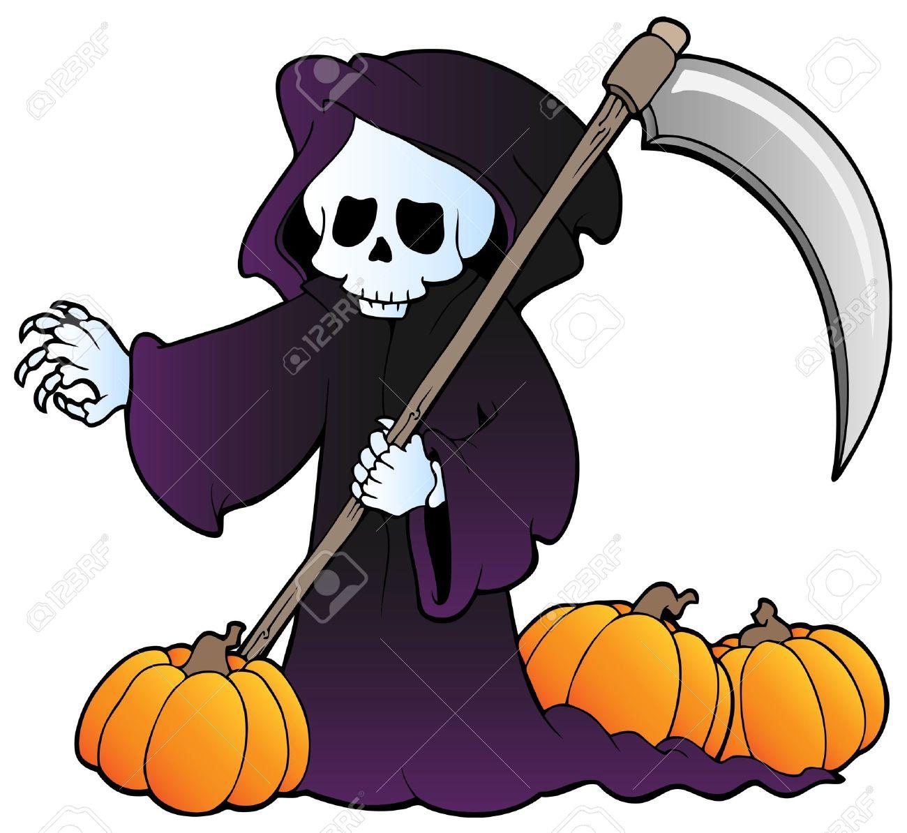 halloween vector character set vector characters grim reaper