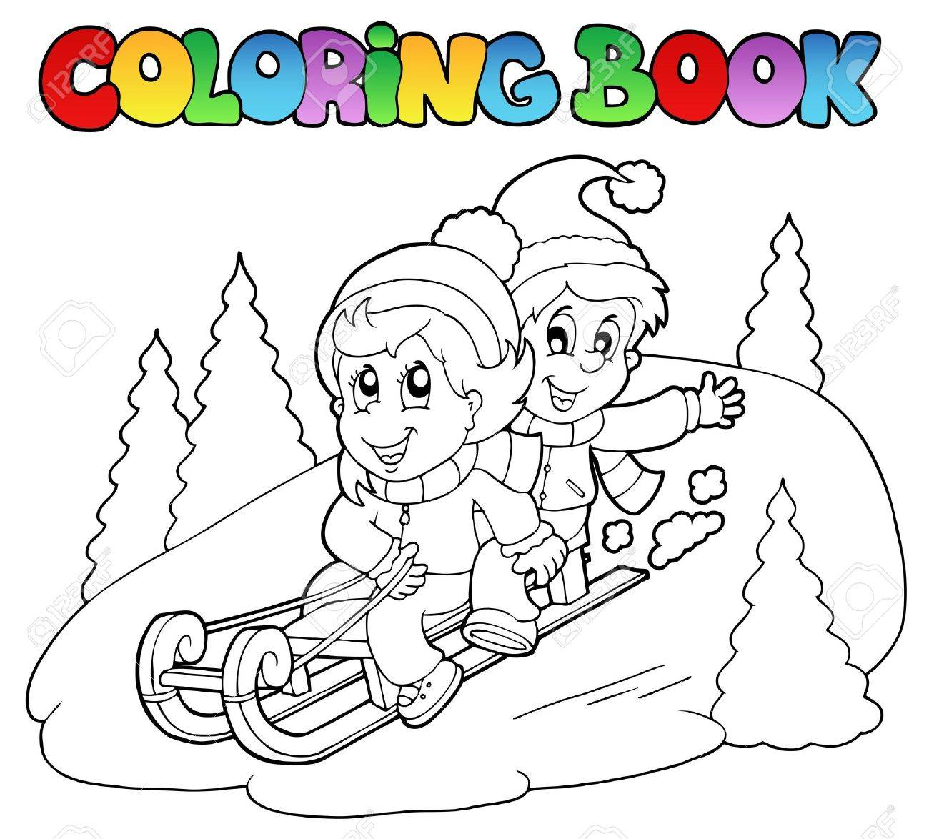 sledding stock photos u0026 pictures royalty free sledding images and