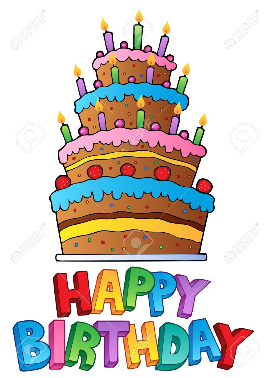 happy birthday topic image 2 vector illustration royalty free