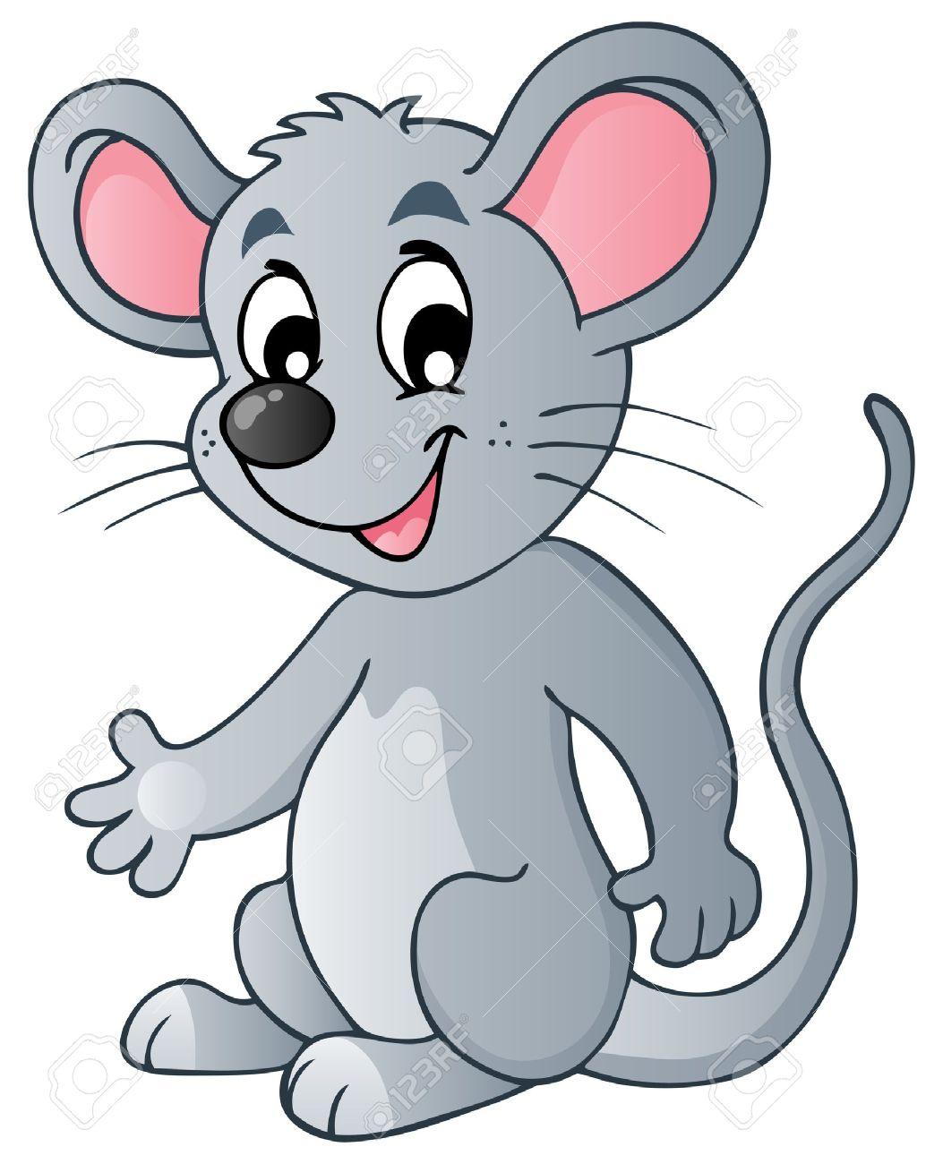 Cute cartoon mouse - vector illustration Stock Vector - 13057325