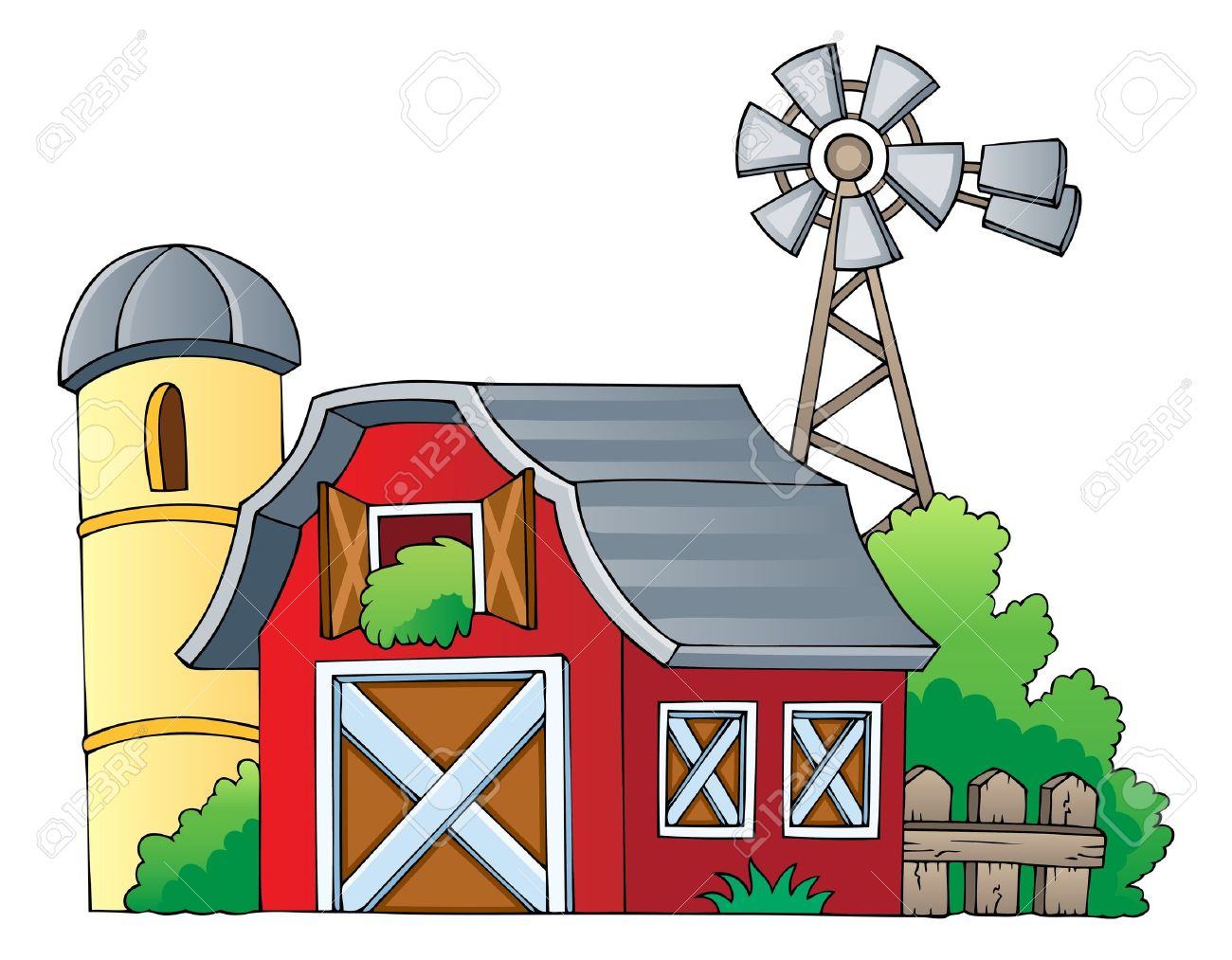 Farm theme image 1 - vector illustration Stock Vector - 13356125