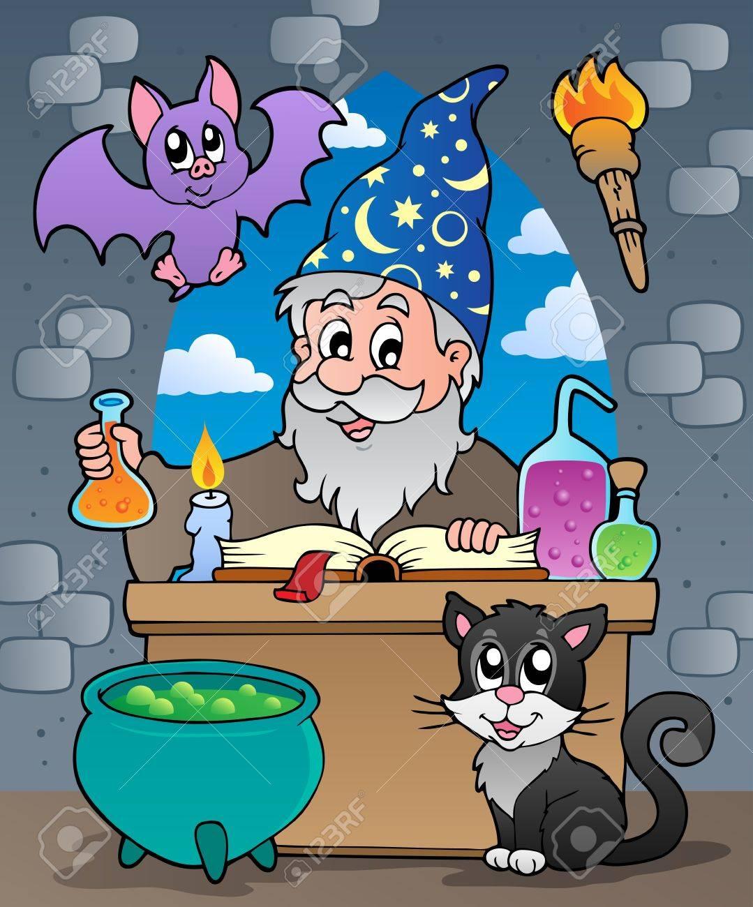 Alchemist theme Stock Vector - 13878982