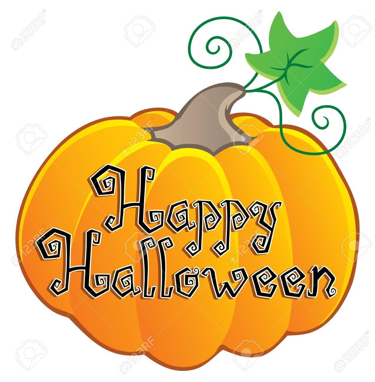 Happy Halloween topic image 2  illustration Stock Vector - 14603649