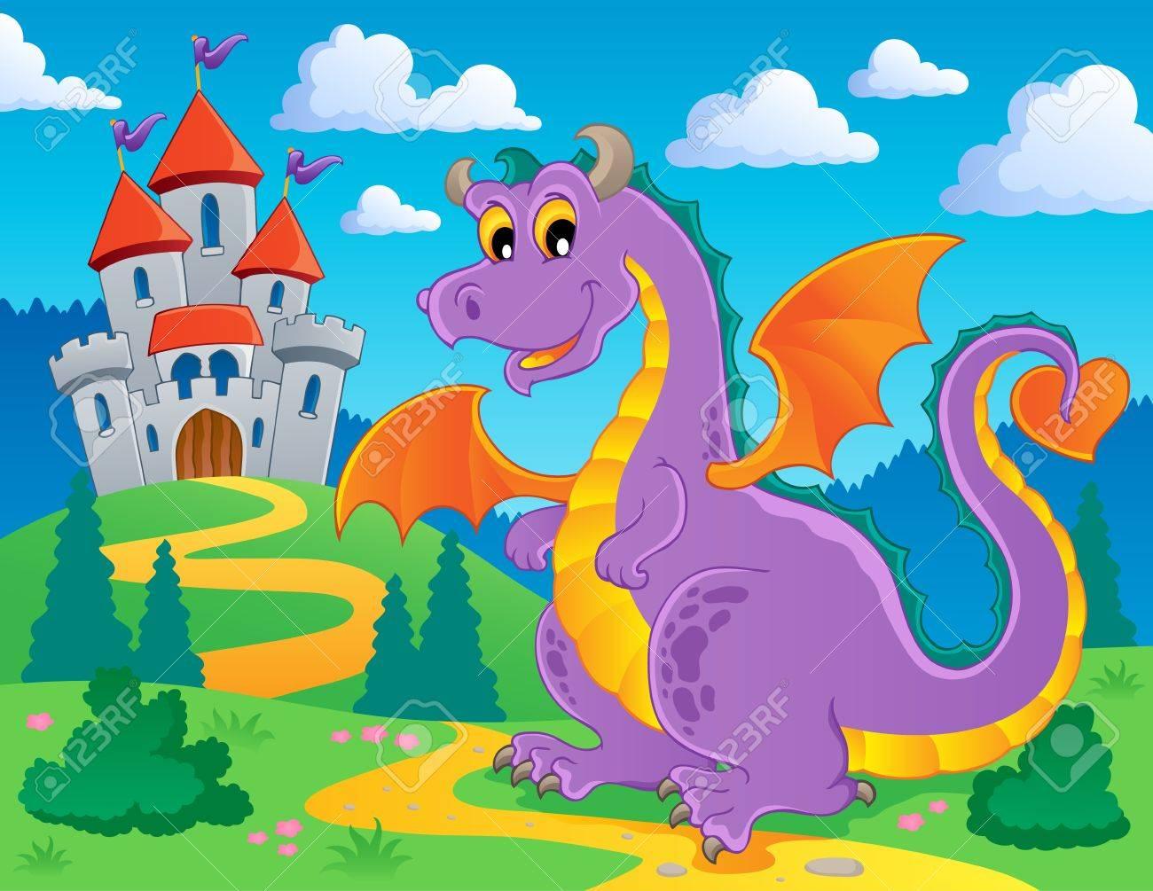 Dragon theme image 2 - vector illustration Stock Vector - 15045961