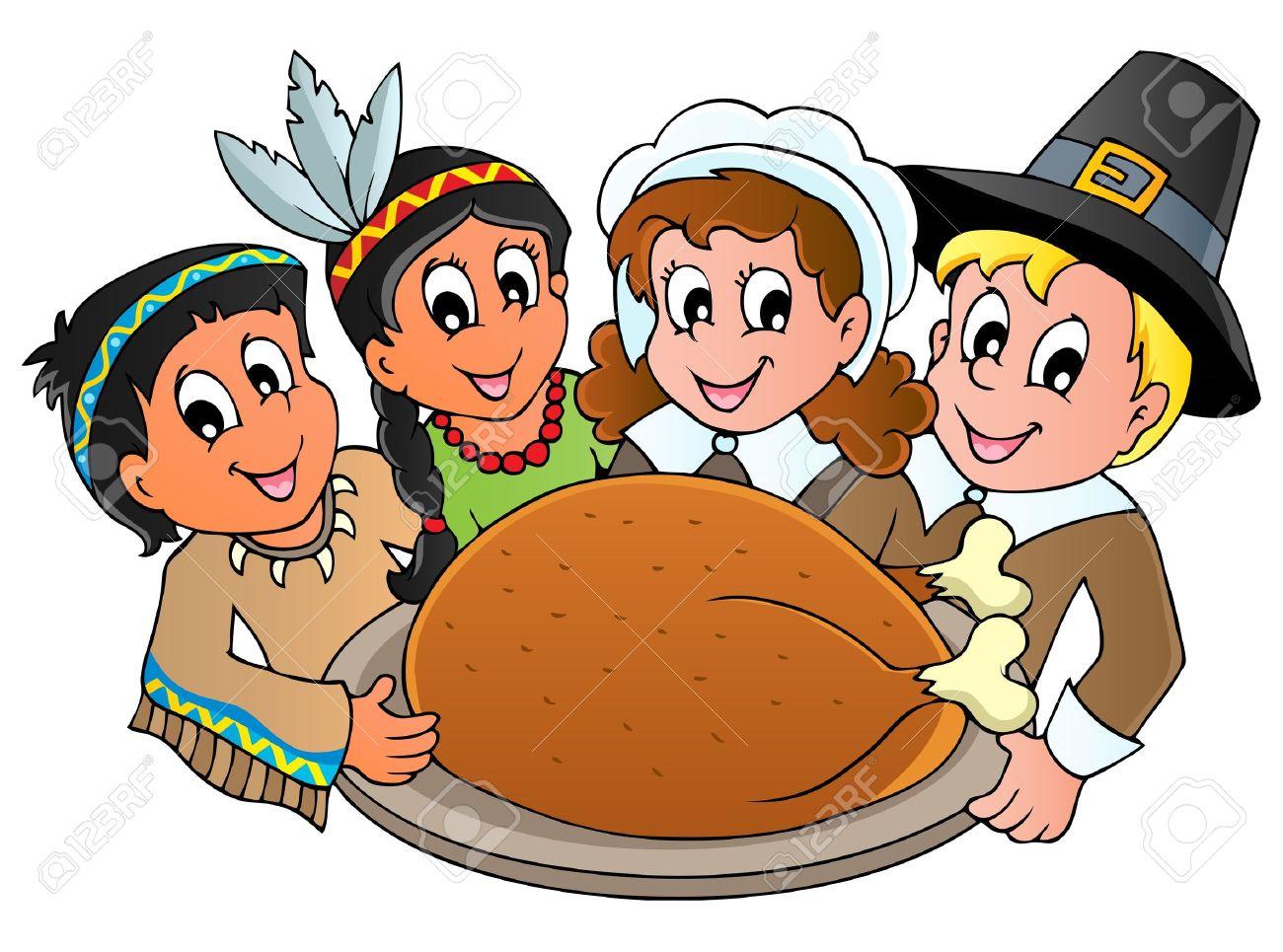 Thanksgiving pilgrim Stock Vector - 15374154