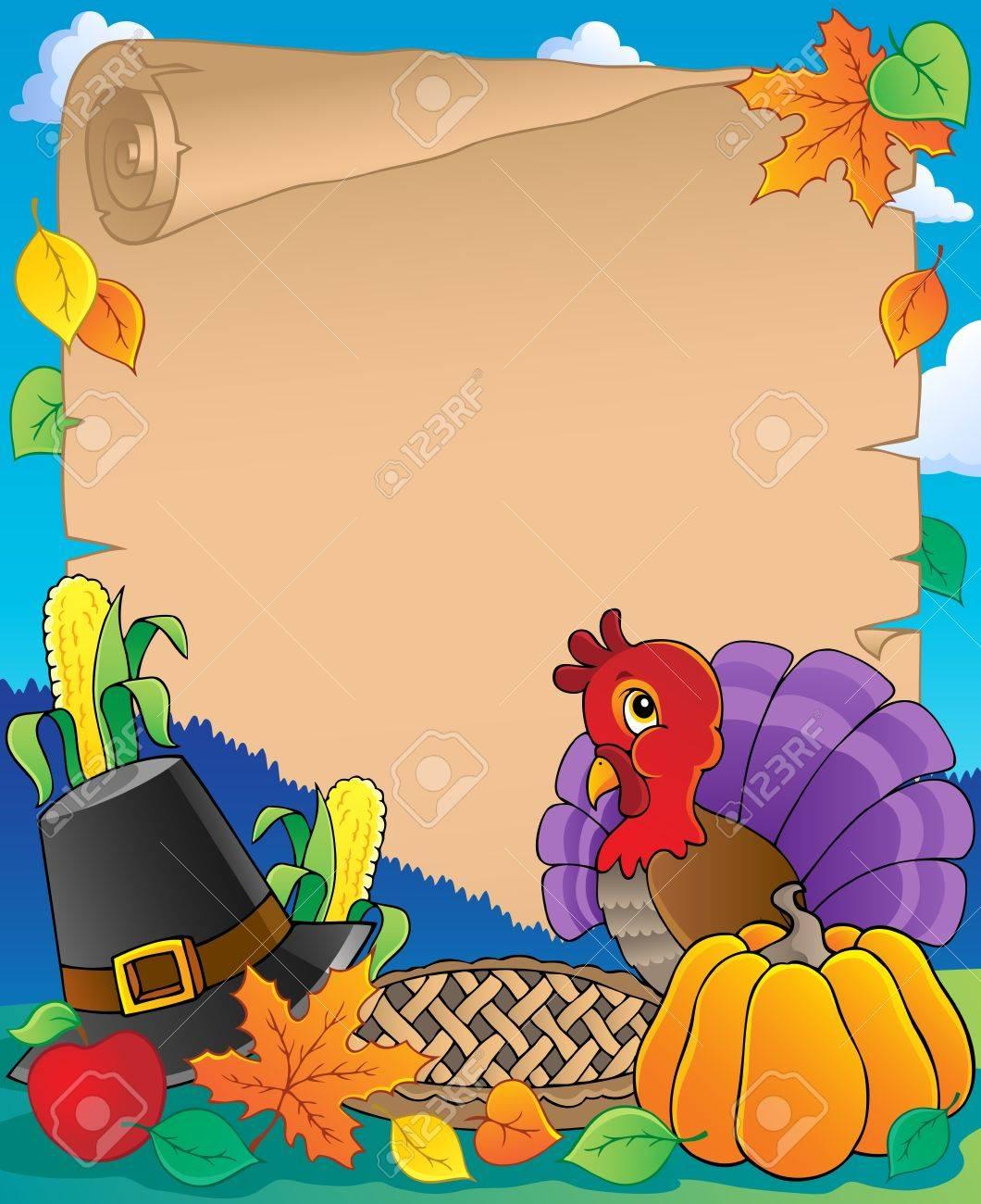 Thanksgiving theme Stock Vector - 15374222
