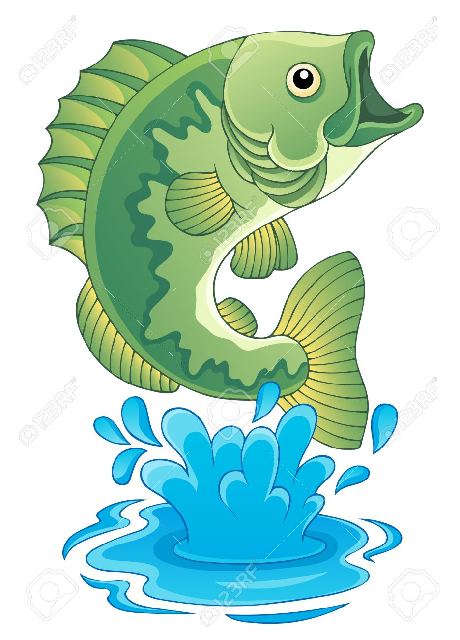 Freshwater fish clipart - Freshwater Fish Theme Image 6 Stock Vector 17794348