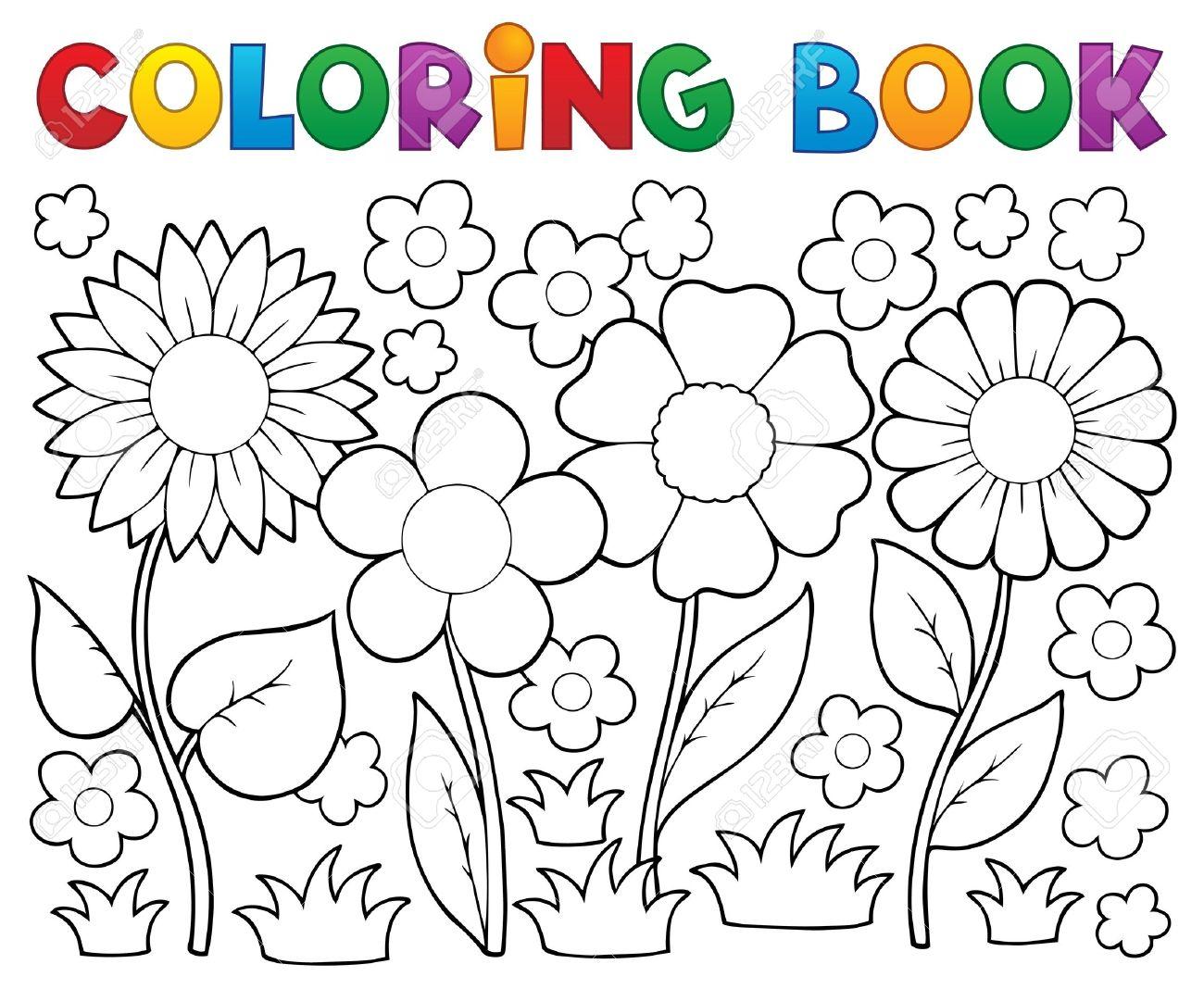 Vistoso Flor De Verano Para Colorear Fotos - Dibujos Para Colorear ...