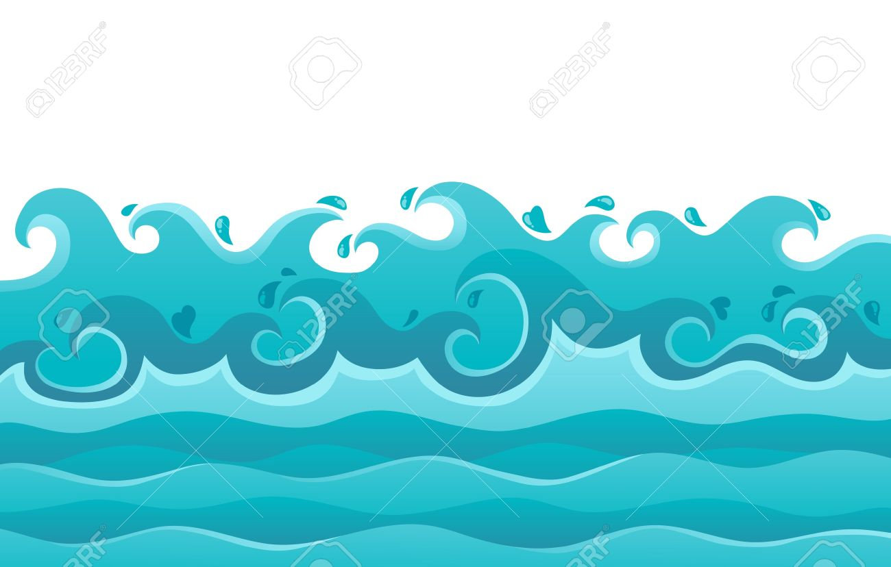 Waves theme image 6 - vector illustration Stock Vector - 18088654