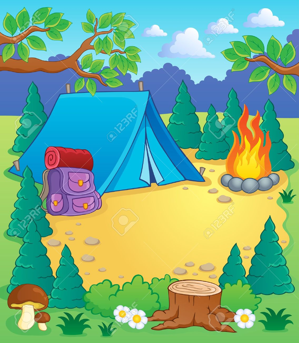 Camping Summer Camp Theme Summer Camping Camp Theme