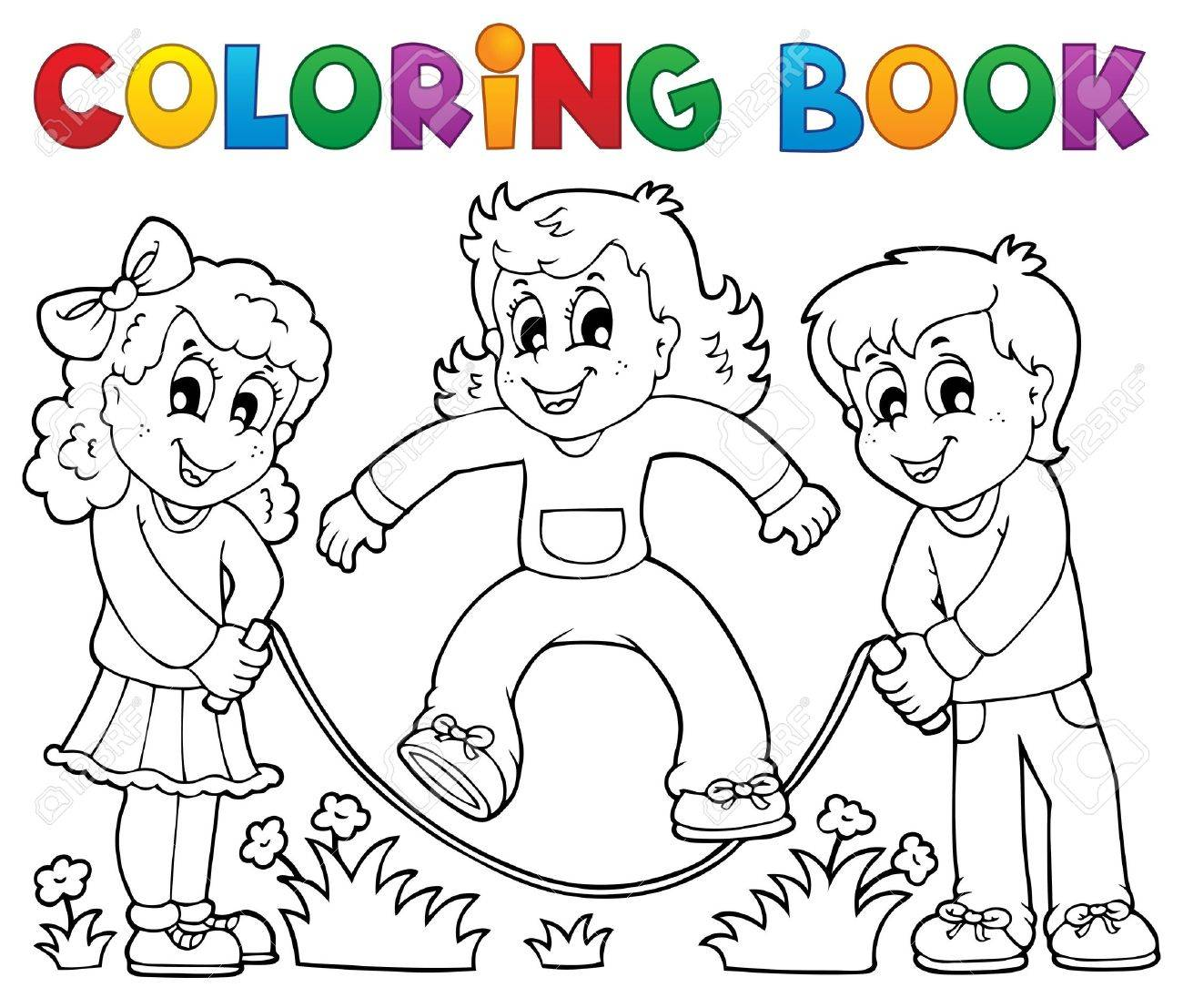 Kids coloring book - Coloring Book Kids Coloring Book