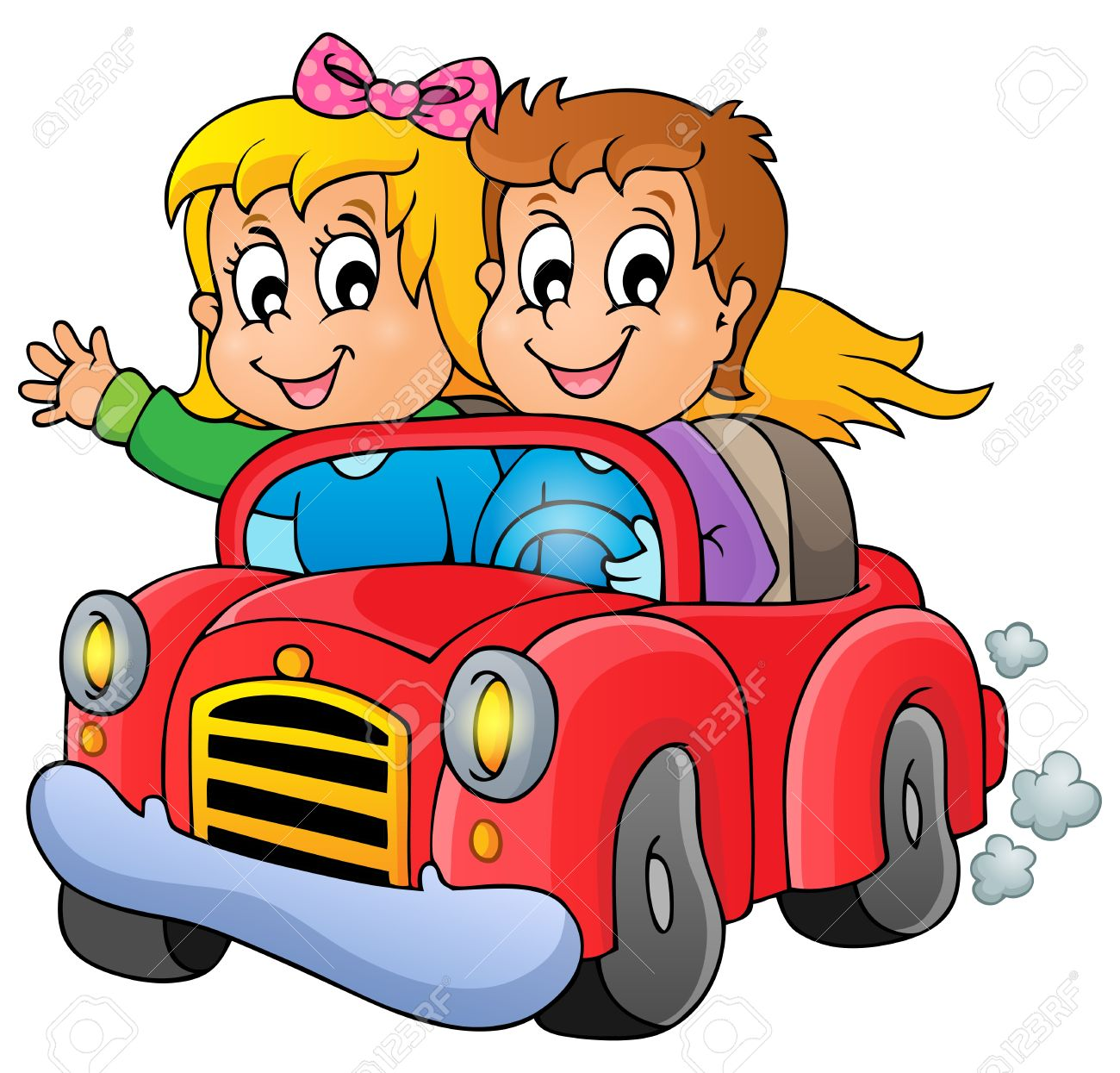 car drivers couple clipart | Logo More
