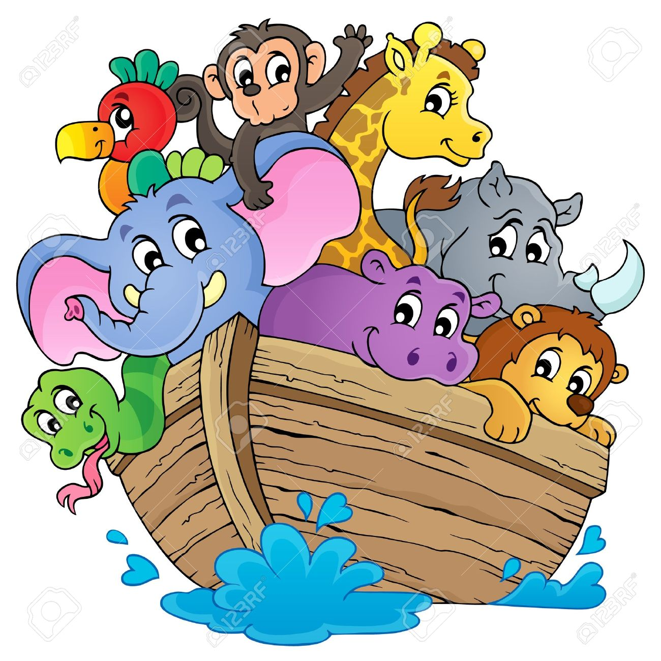 noahs ark theme image royalty free cliparts vectors and stock rh 123rf com noah's ark clip art images noah's ark clipart