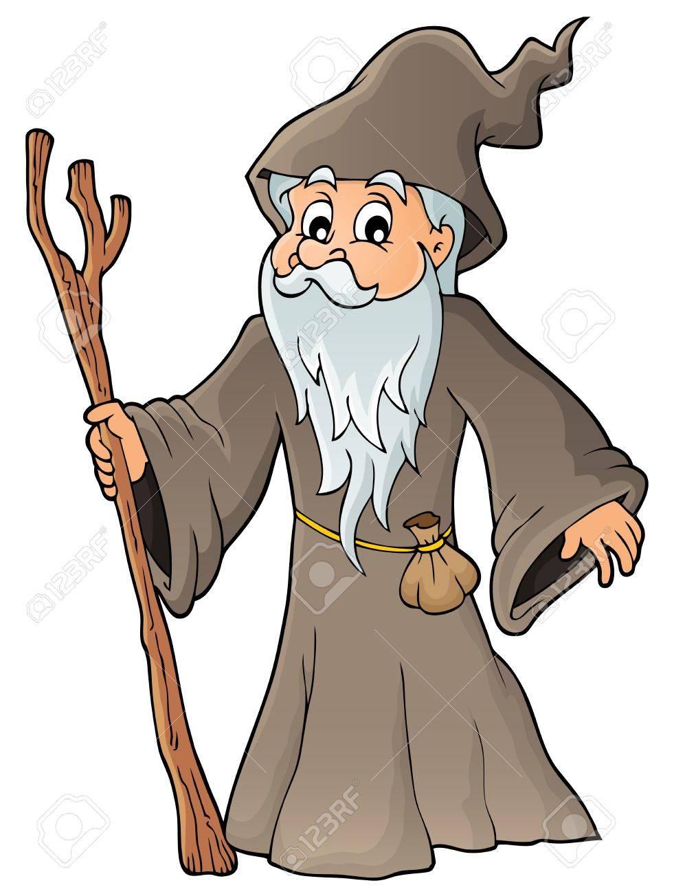 Druid theme image Stock Vector - 31384531