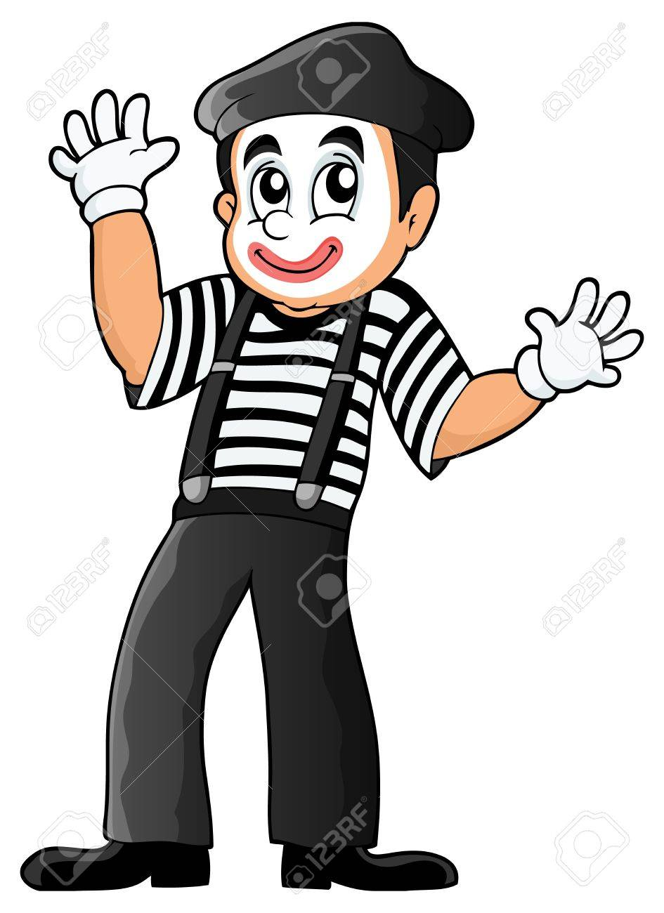 Mime theme image Stock Vector - 31384558