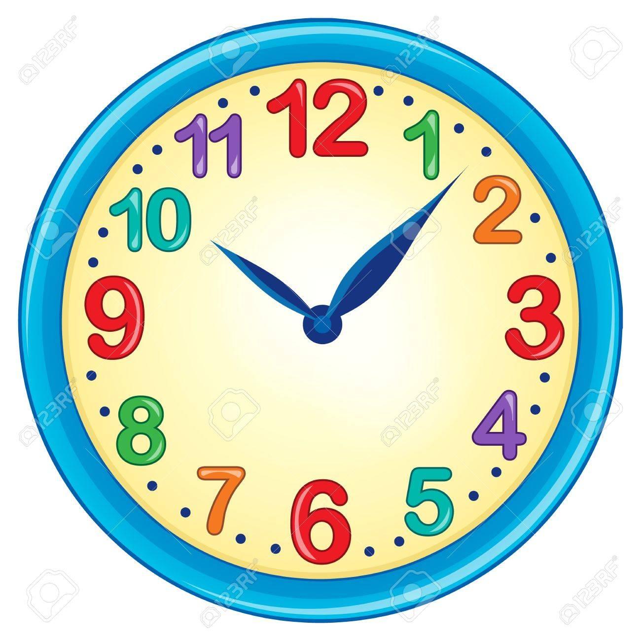 Clock theme image 3 - eps10 vector illustration. Stock Vector - 37770981
