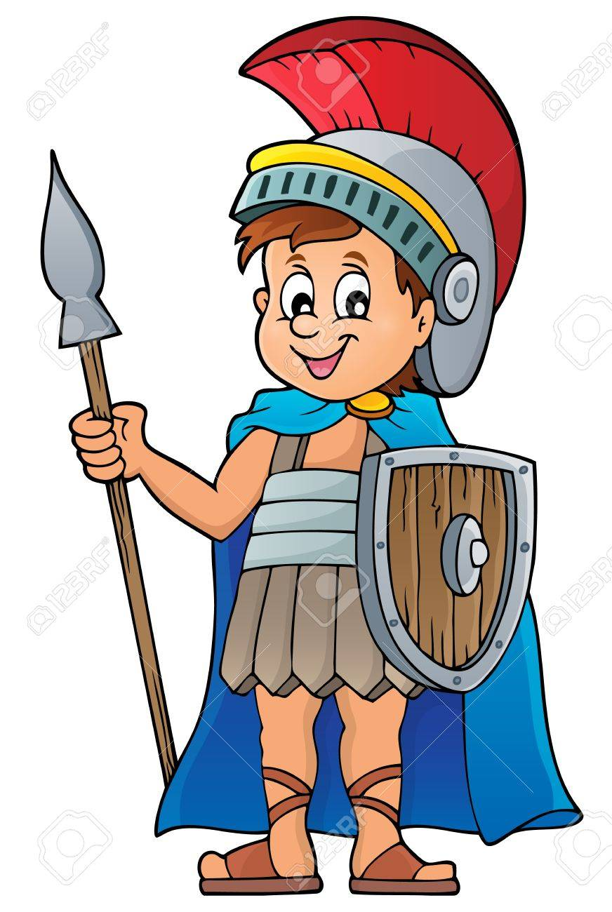 roman soldier royalty free cliparts vectors and stock illustration rh 123rf com  cartoon roman soldier clipart