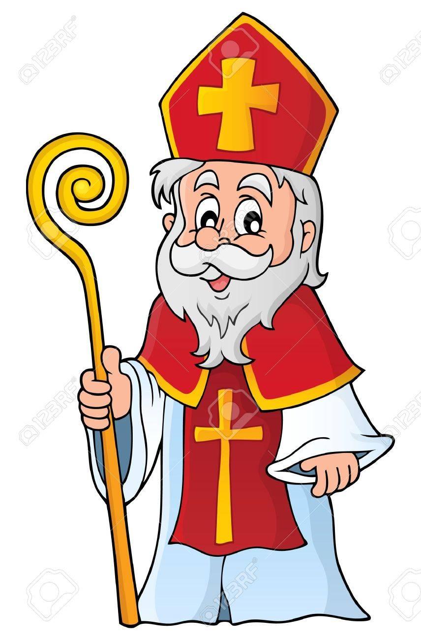Saint Nicolas theme image 1 Stock Vector - 45606313