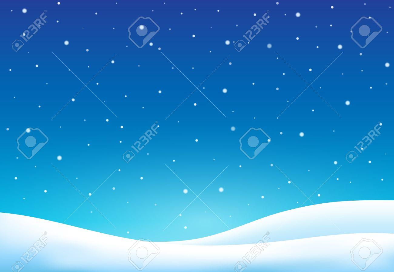 Winter theme background - vector illustration. - 47428117