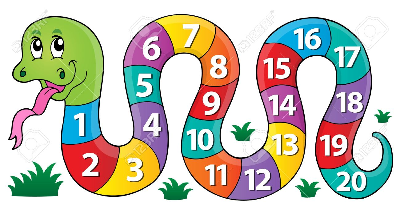 snake with numbers theme image 1 eps10 vector illustration rh 123rf com numbers clipart for kids numbers clipart 1 - 100