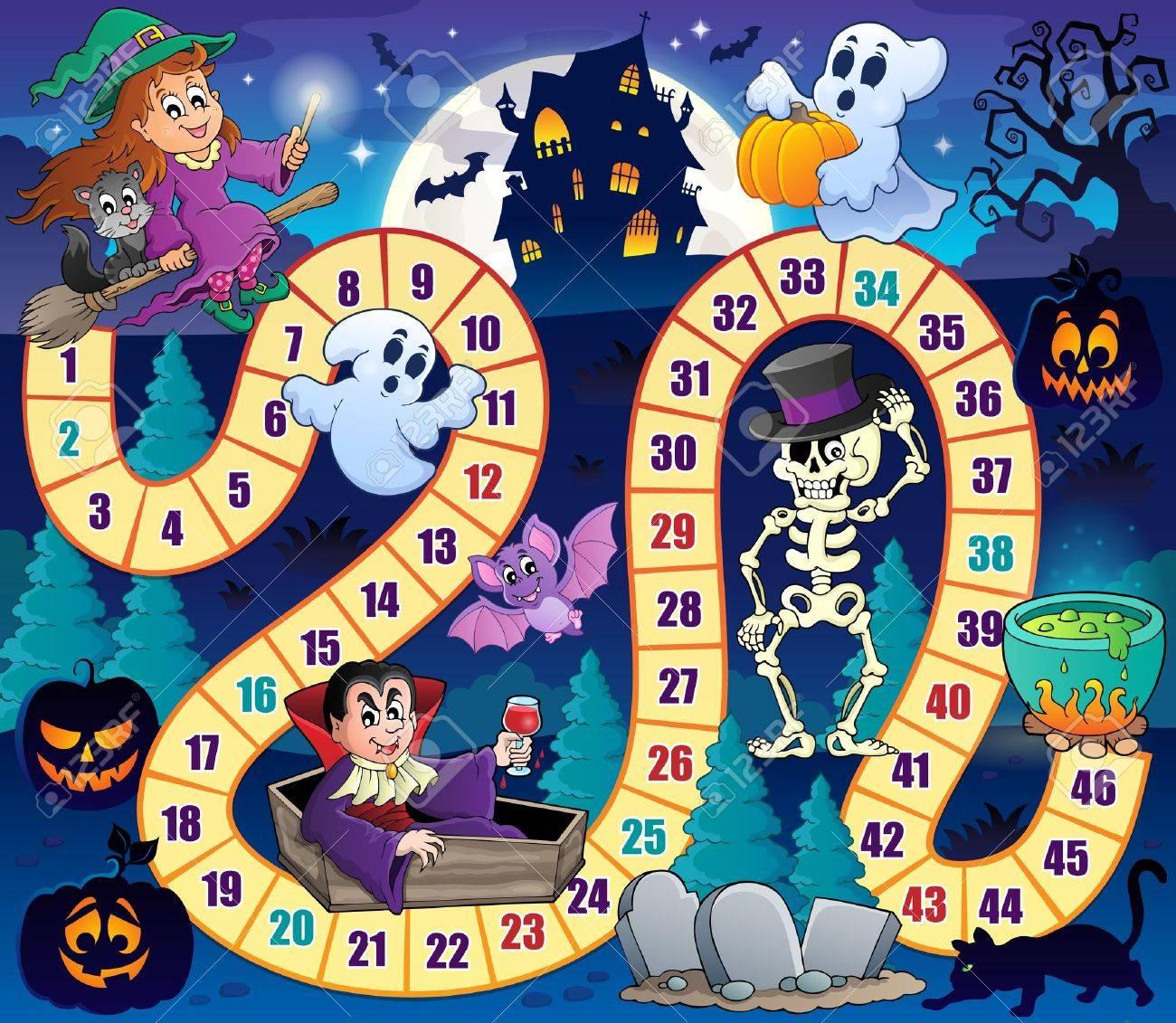 Board game Halloween - 61008984