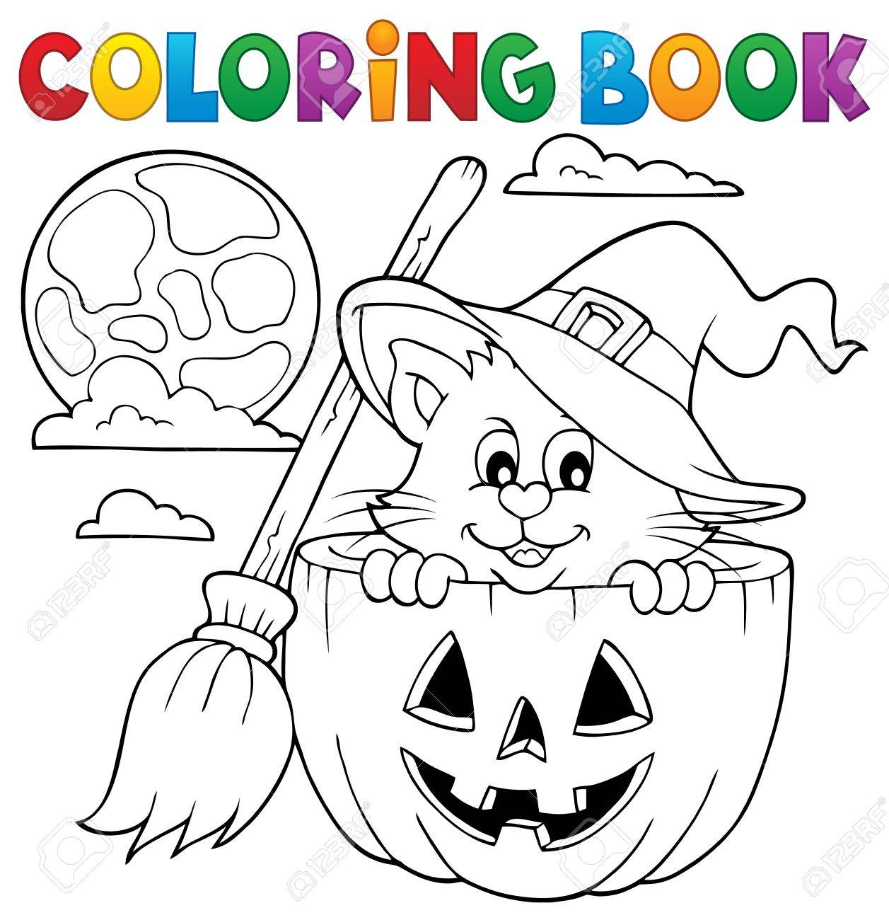 Gemütlich Farbseiten Halloween Zeitgenössisch - Druckbare ...
