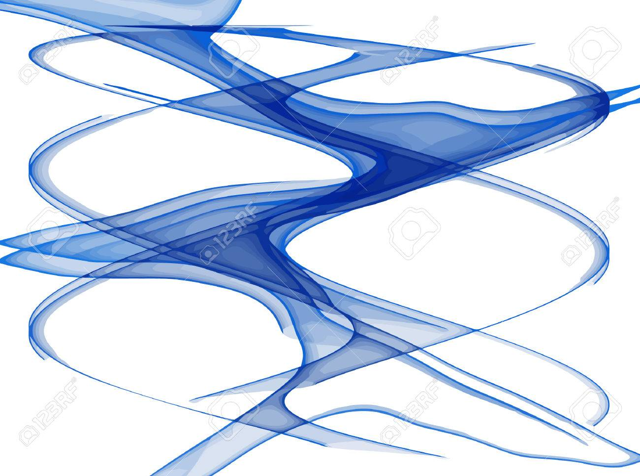 vector - flowing lines Stock Vector - 4379639