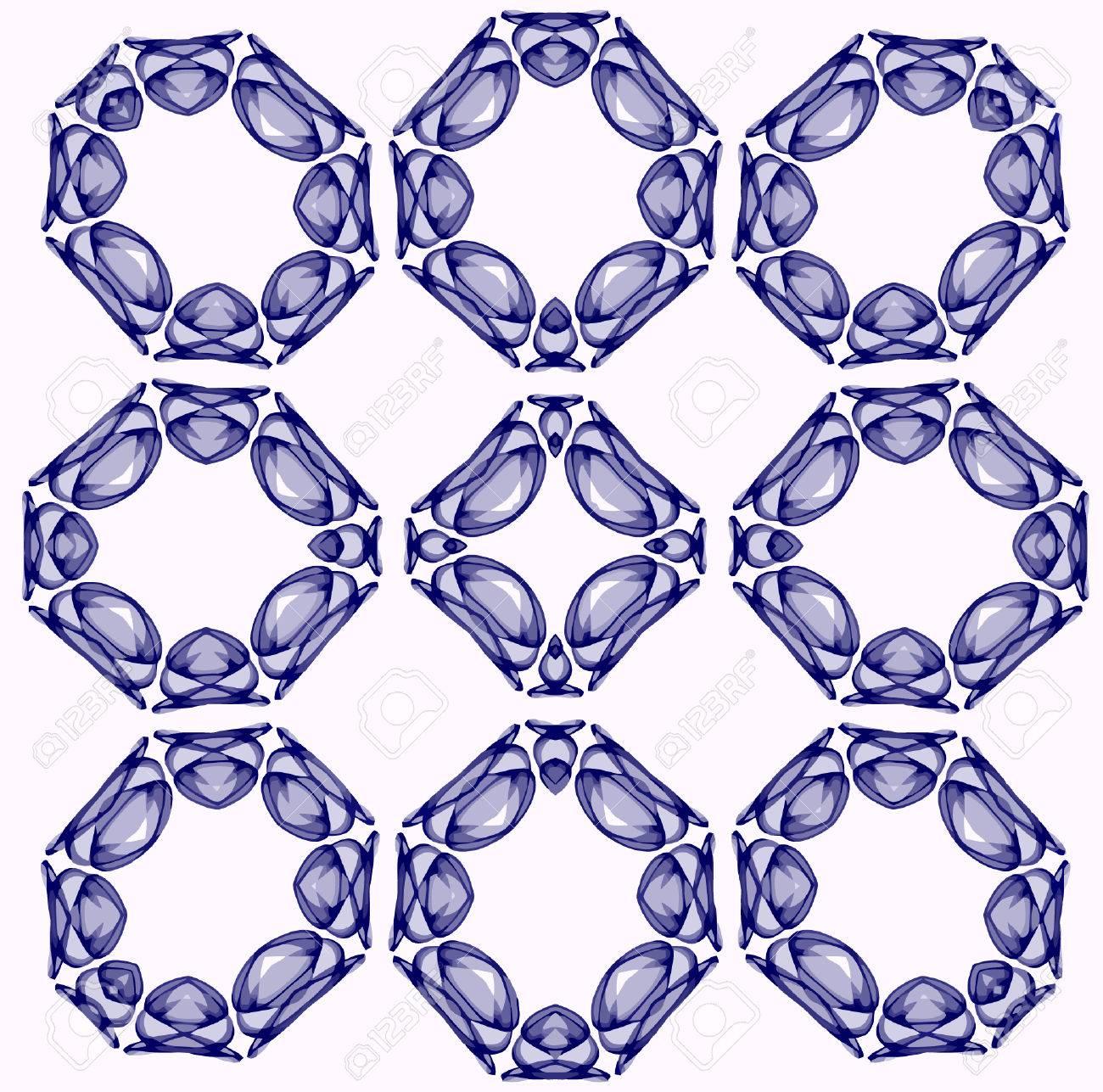 vector - Spanish tile fantasy Stock Vector - 4874838