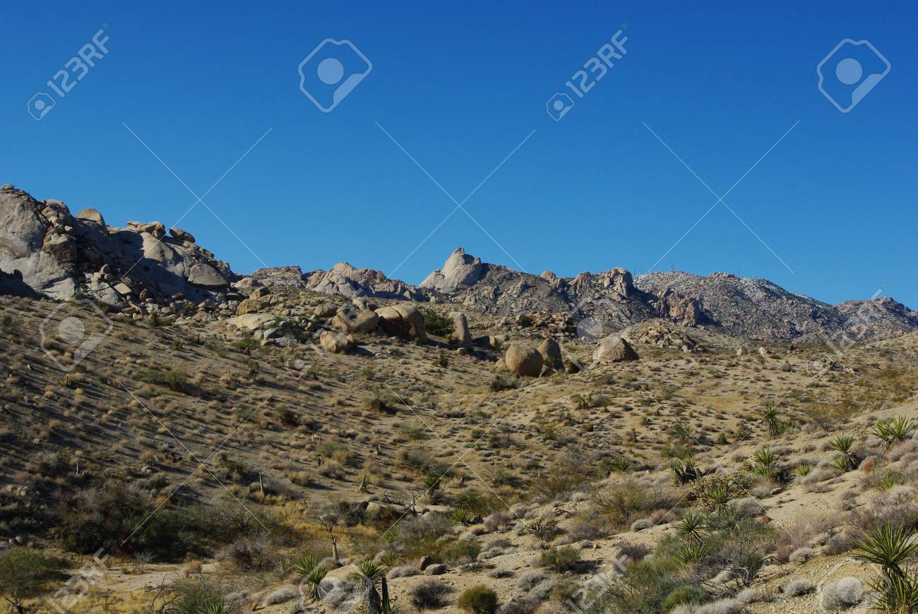 interesting rock formations on the way to christmas tree pass nevada stock photo 13724214