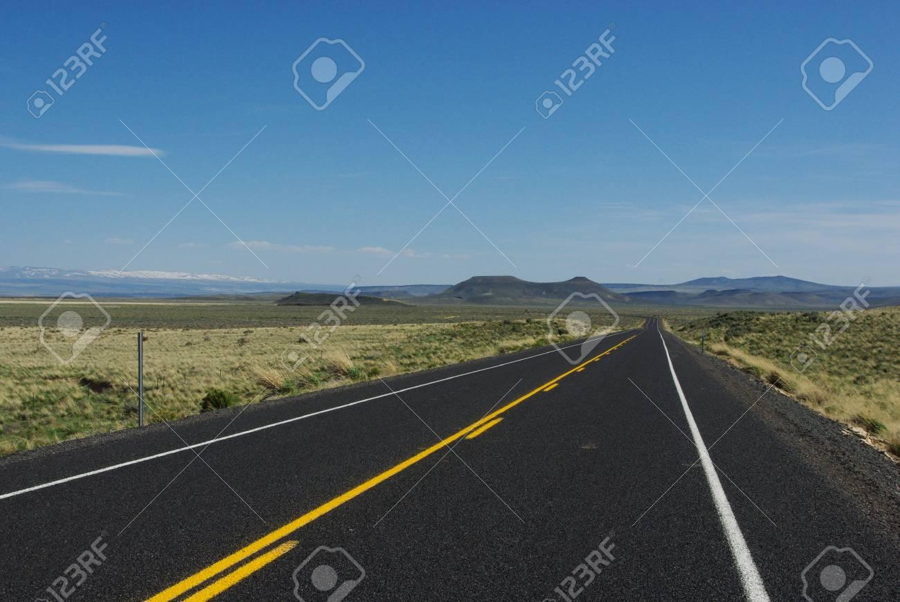 Scenery near Burns, Oregon Stock Photo - 14035771