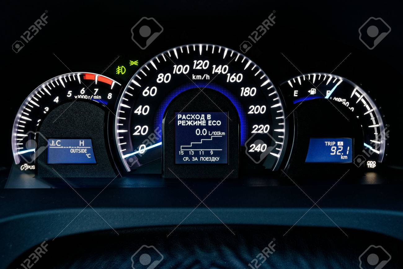 Car Instrument Panel Stock Photo Picture And Royalty Free Image Image 73767148