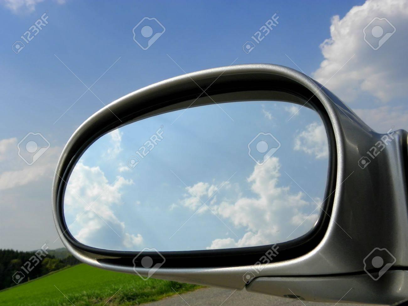 Car Mirror Standard-Bild - 9412209