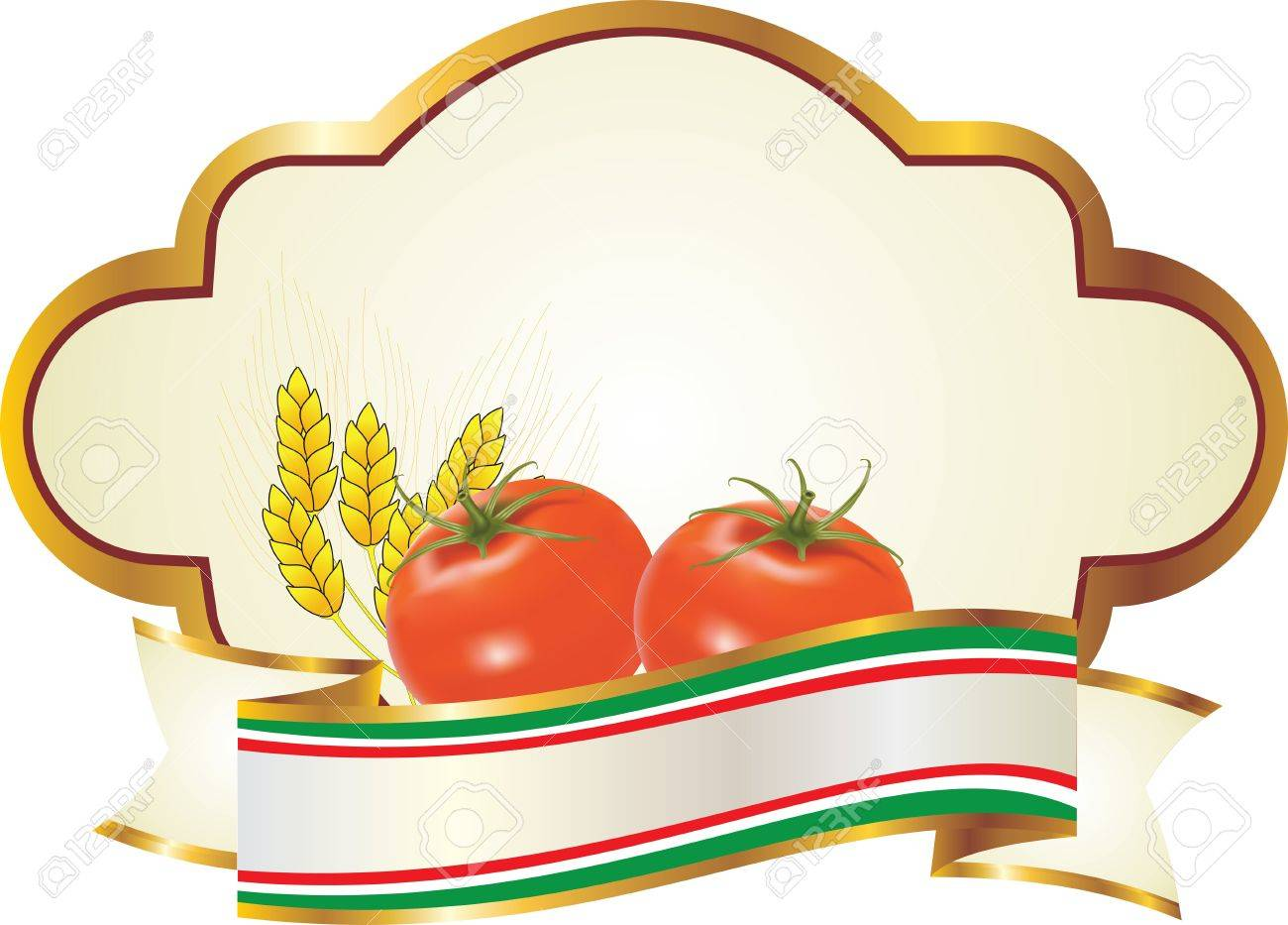 label for fruit and vegetables Stock Photo - 11347648