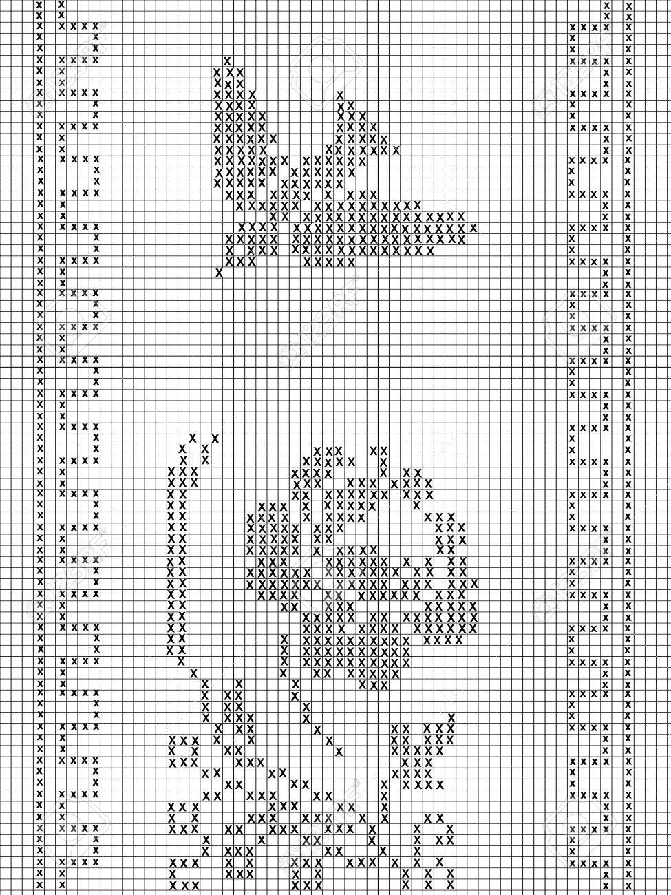 Filet Häkeln Muster Für Lizenzfreie Fotos Bilder Und Stock