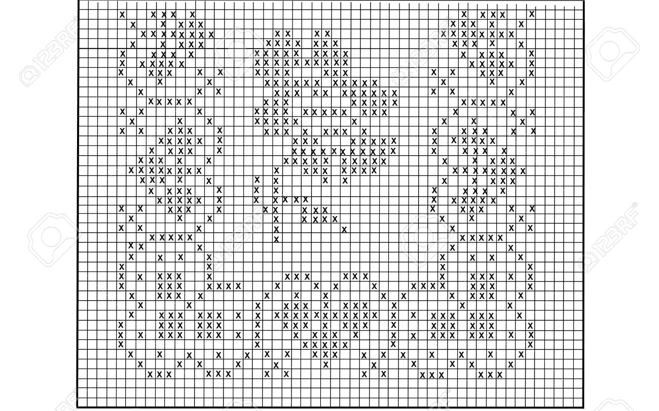 filet crochet pattern for