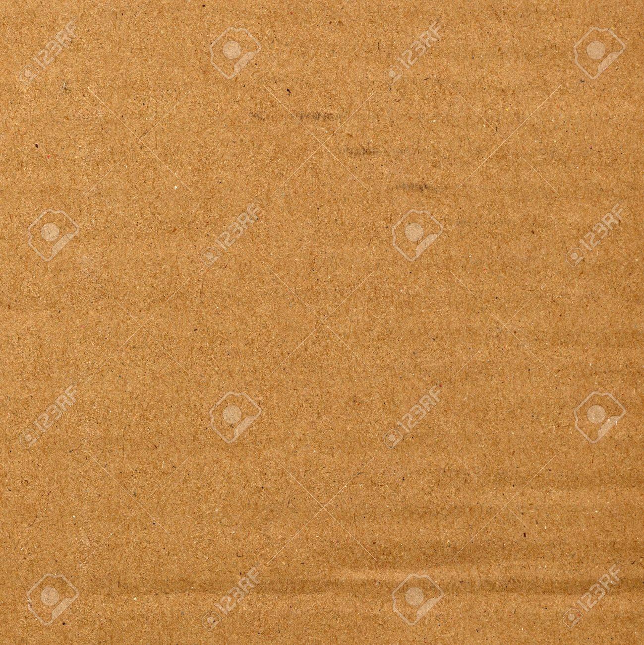 Brown corrugated cardboard sheet background Stock Photo - 3183546