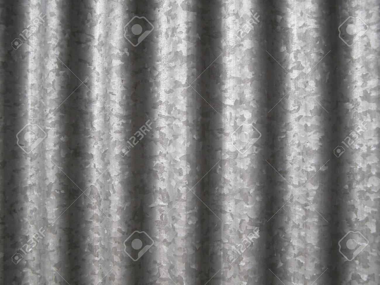 Corrugated steel Stock Photo - 3265087