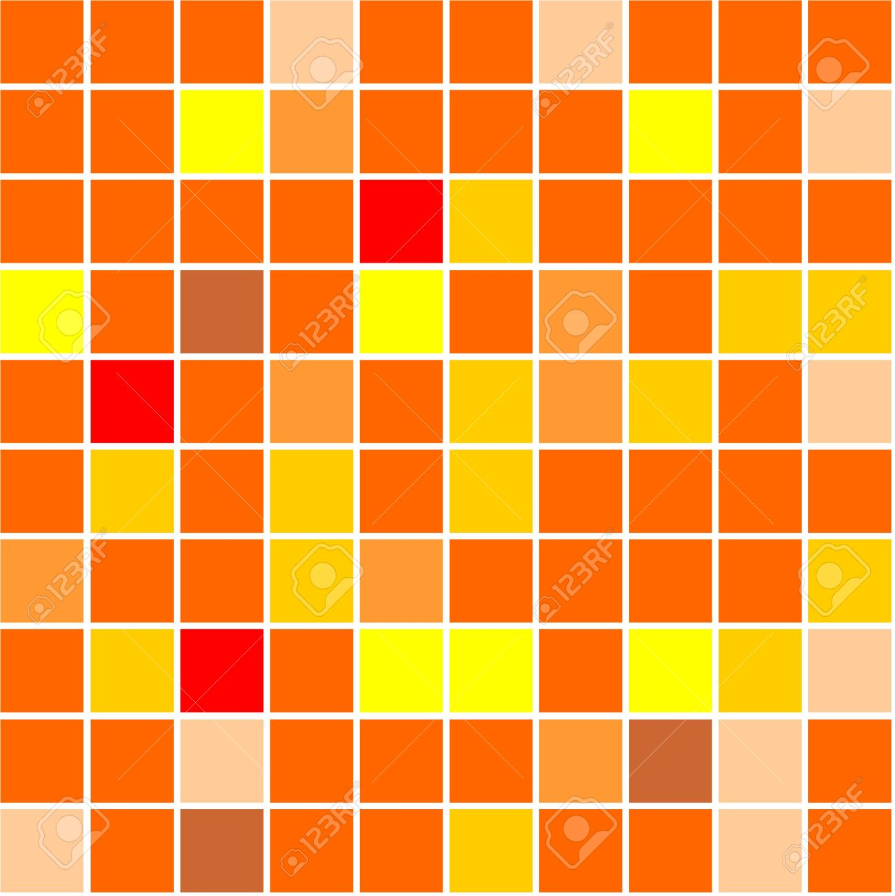 3944170-Seamless-tiles-background-different-shades-of-orange-colour-Stock-Photo