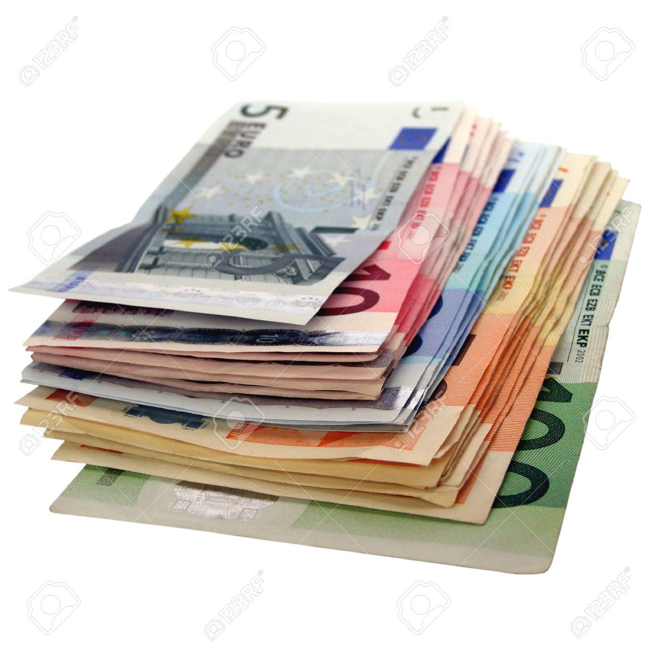 Euro bank notes money (European Union currency) Stock Photo - 4142452