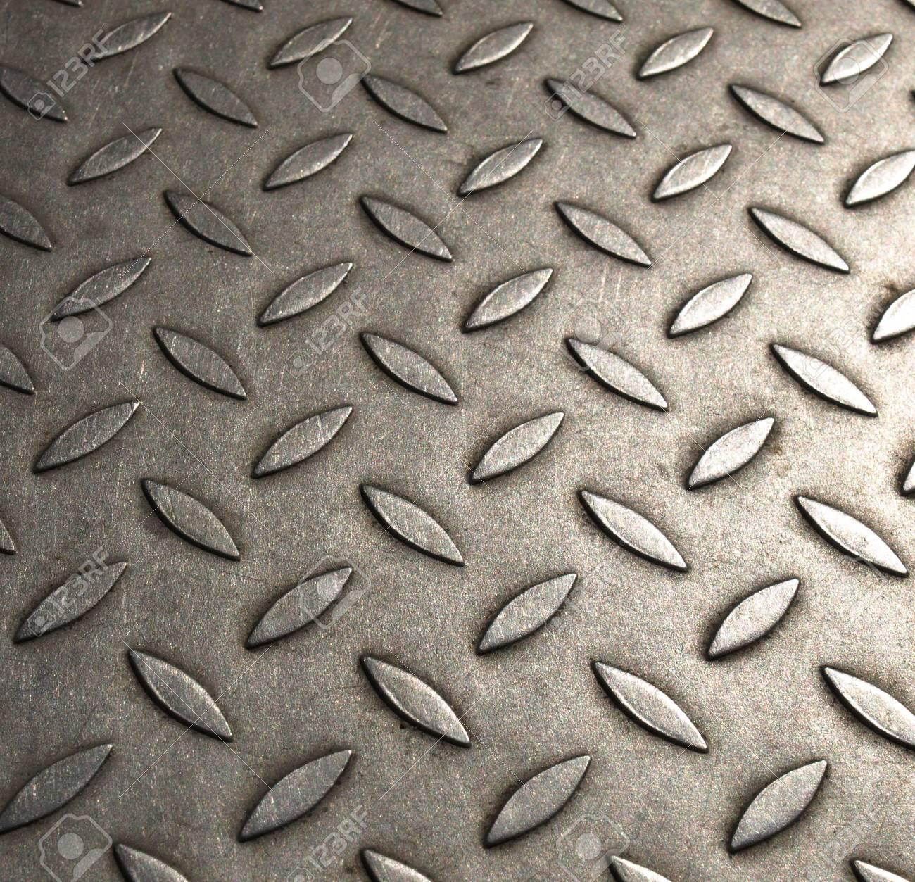 Diamond steel plate useful as a background Stock Photo - 5449459