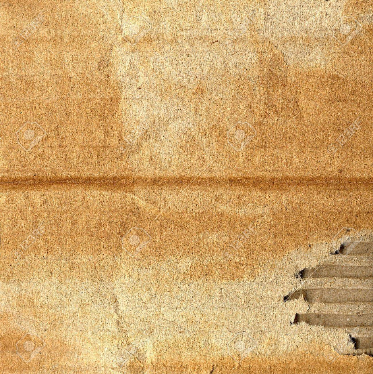 Old grunge corrugated cardboard useful as a background Stock Photo - 6044477