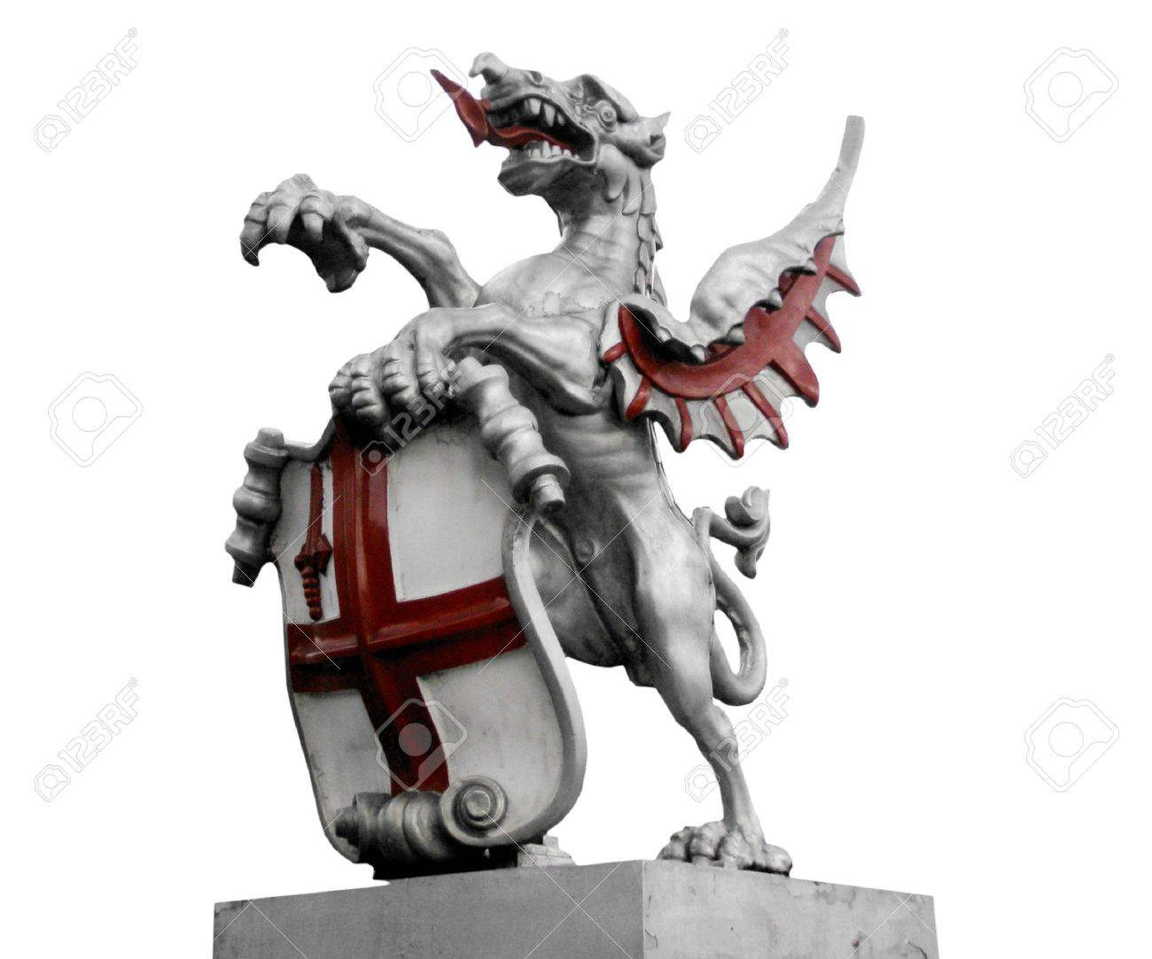 St george with the dragon symbol of england and london stock st george with the dragon symbol of england and london stock photo 6612997 biocorpaavc Image collections