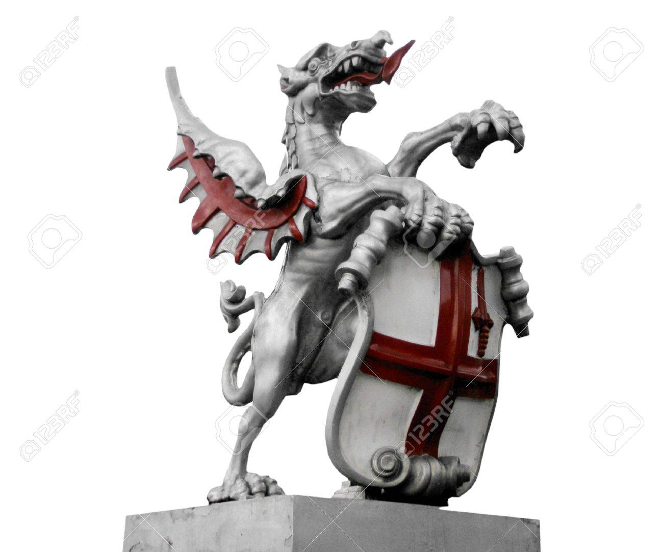 St george with the dragon symbol of england and london stock st george with the dragon symbol of england and london stock photo 7279179 biocorpaavc Image collections