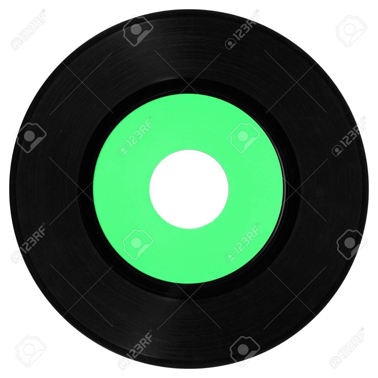 Vinyl record vintage analog music recording medium Stock Photo - 7575950